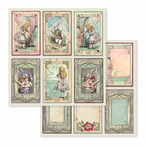 Scrapbooking Paper Pack - Alice