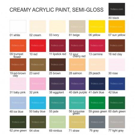 Creamy acrylic, 60 ml