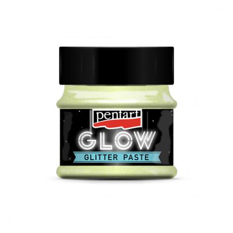 Glow Glitter Paste, 50 ml