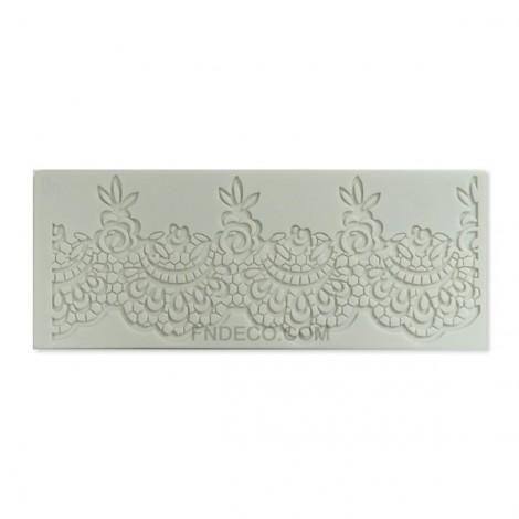 Silicone mold, lace 06