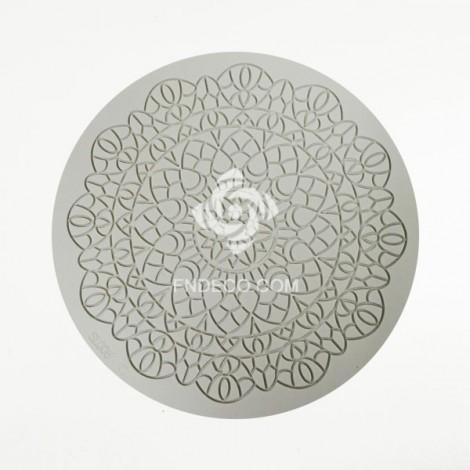 Silicone mold, mandala