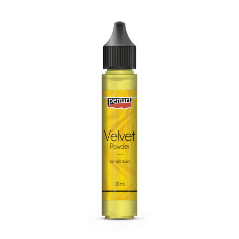 Pentart Velvet Powder - Citrine Yellow